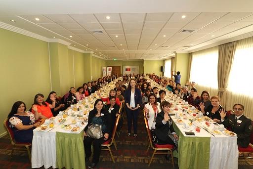 Cien mujeres de la región protagonizan conmemoración por el Día Internacional de la Mujer