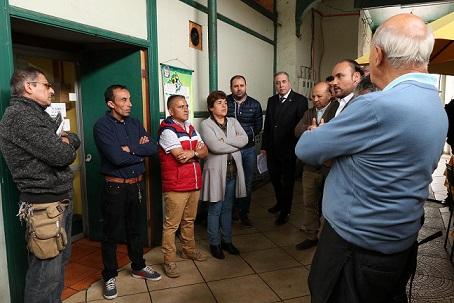 Comprometen apoyo para locatarios que deben abandonar Mercado Municipal de Coquimbo
