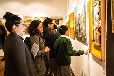 """Con encuentro entre pintores y estudiantes inauguran """"Pinceles del Limarí"""""""