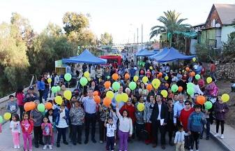 Comienza programa para recuperar espacios públicos en barrio de Andacollo