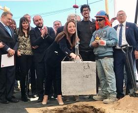 Colocan primera piedra para construcción de nuevo Instituto Teletón en Coquimbo