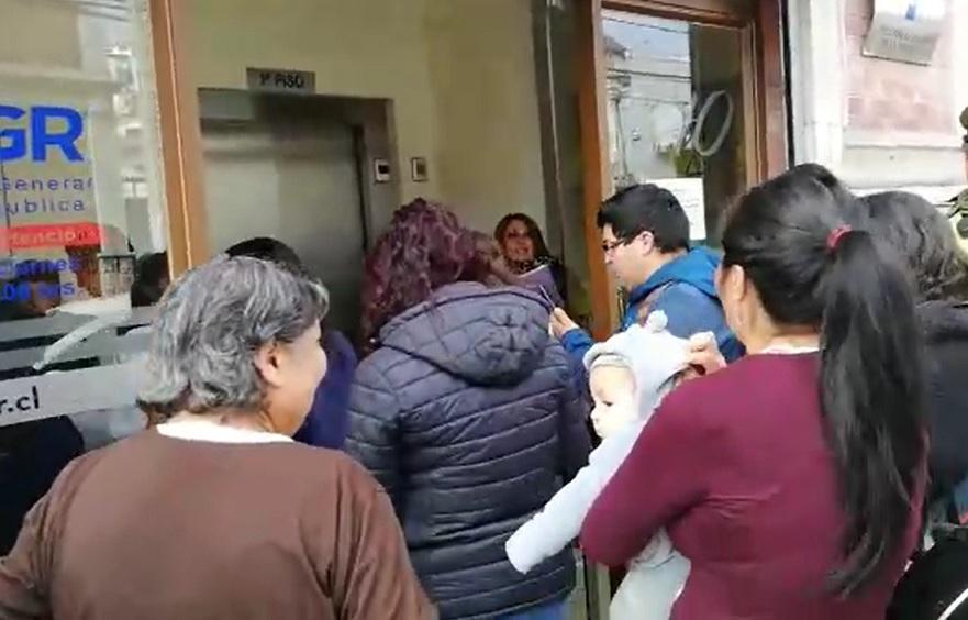 Continúa paralización de profesores de Escuela Cardenal José María Caro de Coquimbo