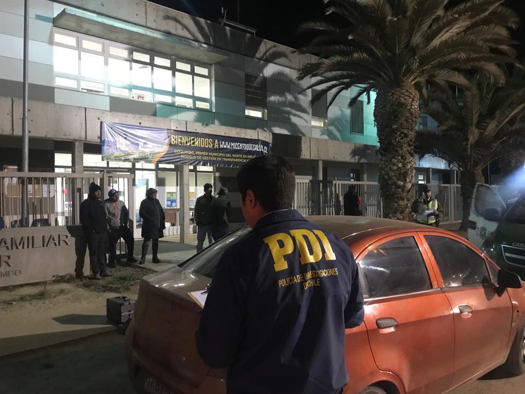 Mujer fue herida con arma de fuego en Pan de Azúcar y PDI investiga el caso