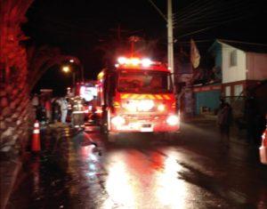 Familia sufre pérdida total de bienes tras incendio de vivienda en Los Vilos