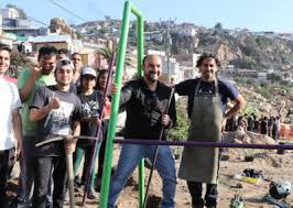 Jóvenes, vecinos y Municipio, realizan gran operativo de limpieza en sector La Gruta de la Parte Alta