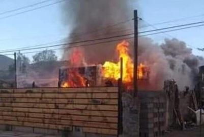Desconocidos queman inmueble de Vicuña por denuncia de supuesta violación del propietario
