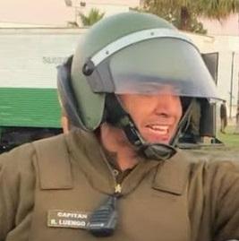 """(EXCLUSIVO) Habla Capitán Ricardo Luego: """"Hoy los carabineros están flaqueando porque hay una institución que no los apoya"""""""
