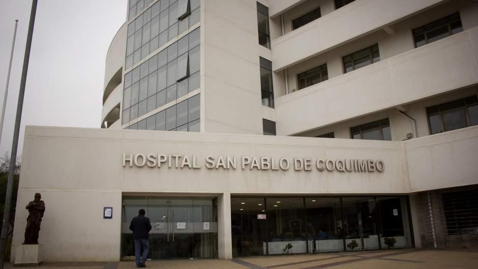 Nuevo brote en Hospital de Coquimbo tiene a 150 funcionarios positivos con Covid-19