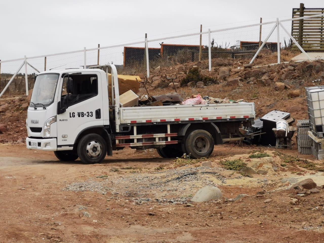 Recuperan camión que fue utilizado para alunizaje en empresa constructora de La Serena