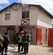 (ACTUALIZACIÓN) Fallece menor de 12 años en incendio estructural en Villa Talinay