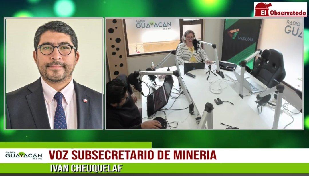 """Subsecretario de Minería por proyecto Dominga: """"Por razones políticas anteriores se dejó sin efecto la evaluación técnica que estaba aprobada""""."""