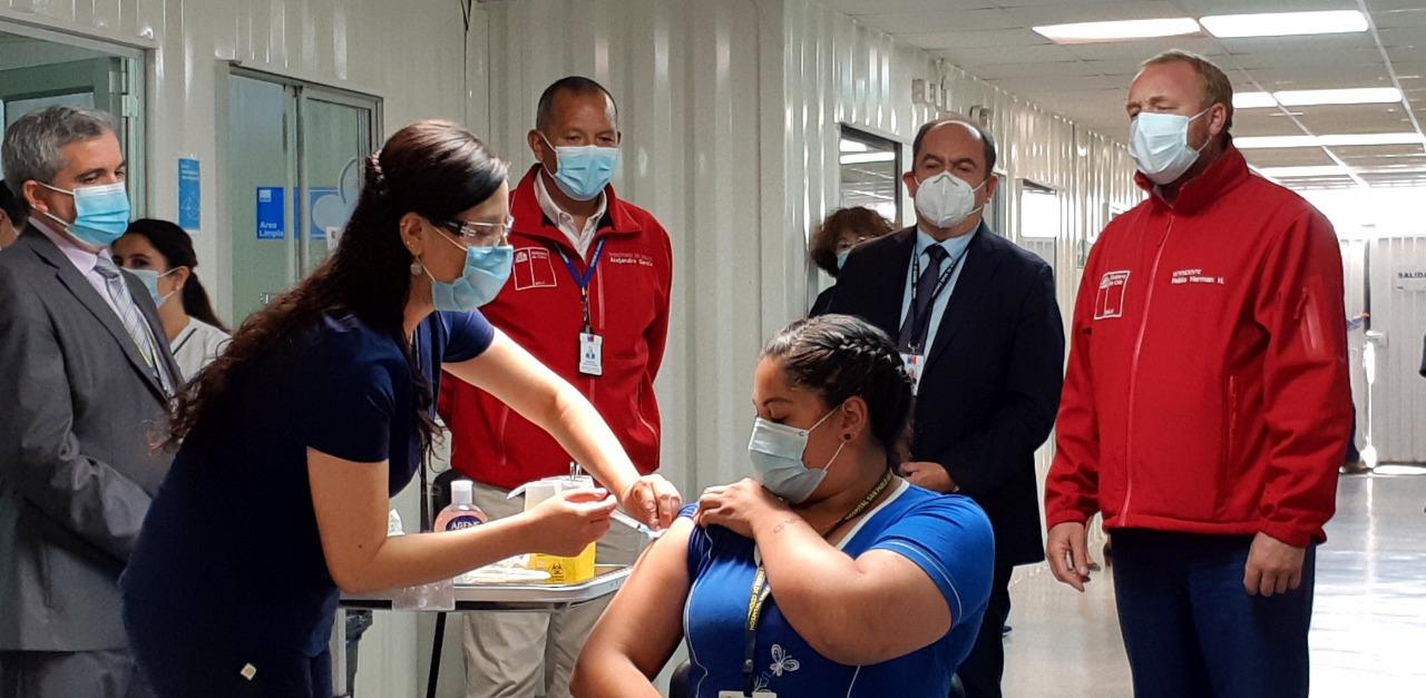 2.365 personas se vacunaron contra el Covid- 19 en la región de Coquimbo