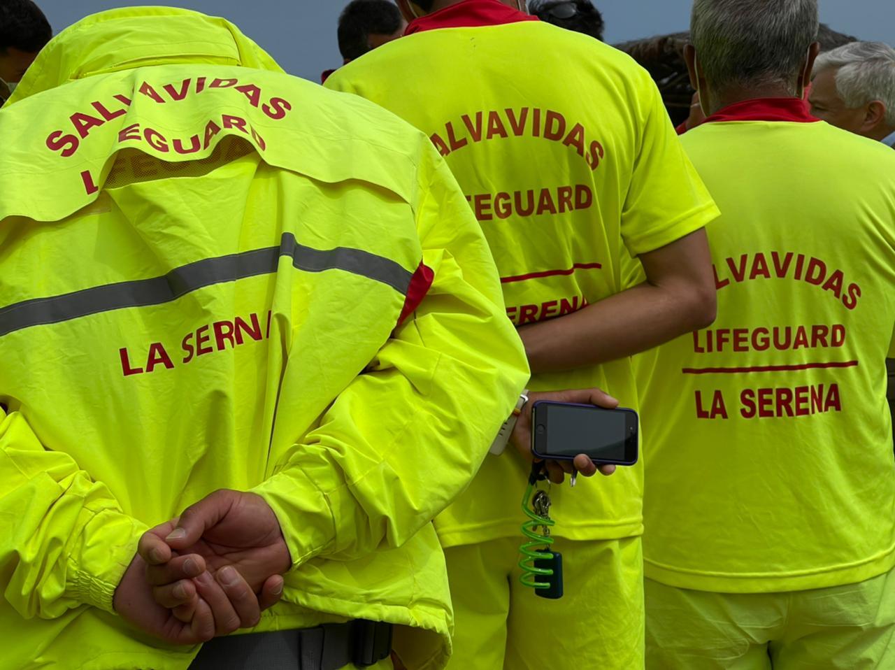 Salvavidas de La Serena mantienen paralización de actividades hasta que se resuelvan sus demandas laborales