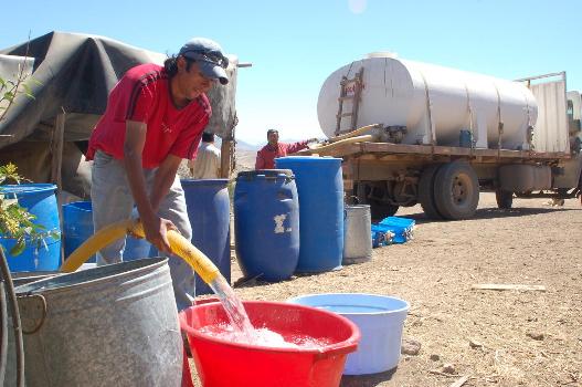Más de 557 familias afectadas en Illapel por reducción de camiones aljibes para distribución de agua