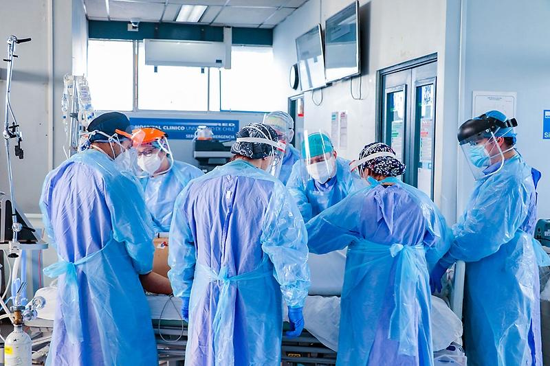 Sólo hay 17 camas críticas disponibles en centros asistenciales de la región