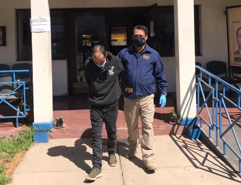 Tres sujetos fueron detenidos por robo a constructora en pleno centro de Ovalle