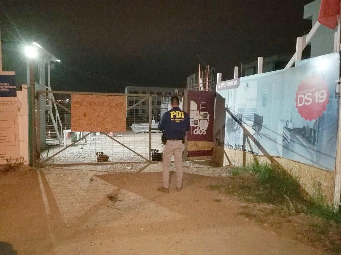 Guardia de constructora fue maniatado y abandonado en quebrada de La Serena
