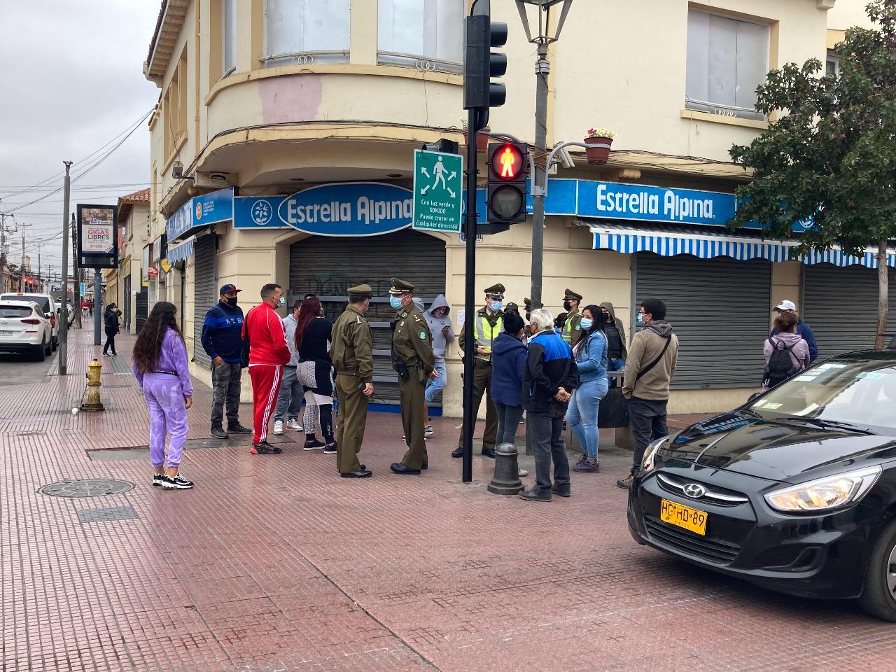 Aumento en la movilidad durante el primer día en Fase 2 de la conurbación La Serena-Coquimbo