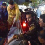 Afganistán: Al menos 60 muertos en ataques con explosivos en las afueras del aeropuerto de Kabul
