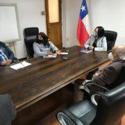 """Krist Naranjo en Ceres: """"Desde el Gobierno Regional tenemos toda la disposición para poder establecer los diálogos""""."""