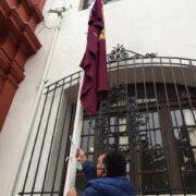 Municipalidad de La Serena da el vamos a su mes de aniversario con el izamiento de la bandera