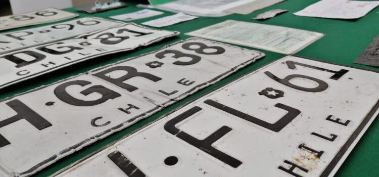 76 vehículos robados han sido recuperados este año en la región de Coquimbo