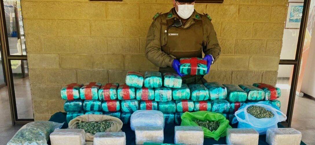 """Detienen a hombre que trasladaba más de $300 millones de droga en bolsos """"matuteros"""""""