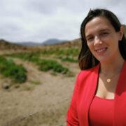 """Daniela Norambuena por panorama hídrico en la zona: """"Tiene que haber un ordenamiento territorial, algo básico y fundamental"""""""