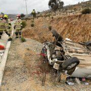 Illapel: Mujer fallece en accidente de tránsito en Ruta D-81
