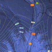 Se esperan precipitaciones y rachas de vientos de hasta 70 Km/h en el Limarí y Choapa para este sábado