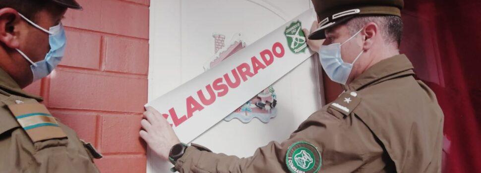 Clausuran vivienda donde se ejercía comercio sexual en La Serena