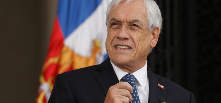 Presidente Piñera decreta Estado de Excepción Constitucional en la macrozona sur
