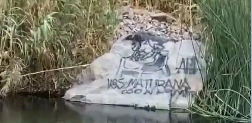 (VIDEO) Denuncian a hinchas de Coquimbo Unido por rayar piedras en Valle del Elqui