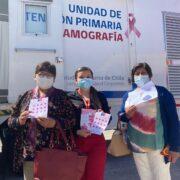 Mamógrafo móvil que recorre la región de Coquimbo lidera pesquisa nacional
