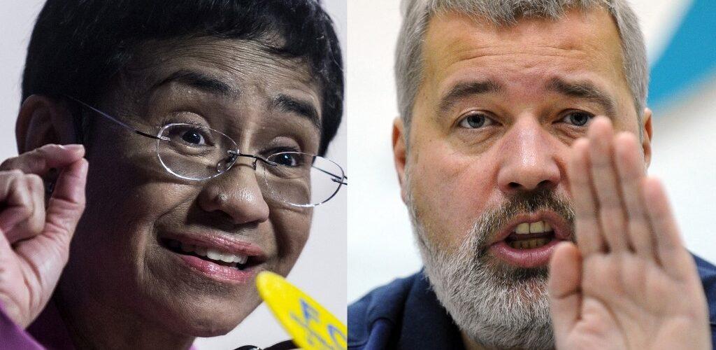 Premio Nobel de la Paz 2021 es entregado a periodistas filipina y ruso por su lucha por la libertad de expresión